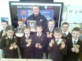 NI Fire and Rescue Service visit Primary 5