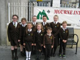 Eco-Committee Attend Green Flag Reception