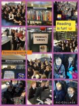 P4 visit Newcastle Library