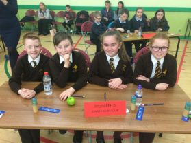 P7 Compete in Credit Union Quiz