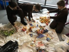 St Joseph's are Food Waste SUPER Heroes!