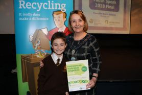 Conor is our Environmental Youth Speak Winner 2018!