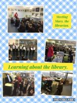 P4 Library Visit