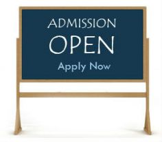 ON Line Admissions Now Open for Sept. 2019