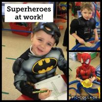 Superheroes Go To School!